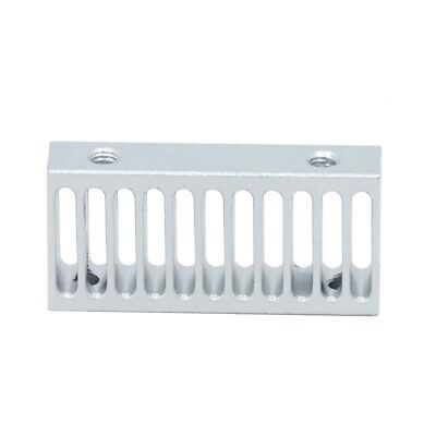 1x Ultimaker 2 Cooling Tank Grooves Seat 3D Printer Aluminum Heat Sink Radiator