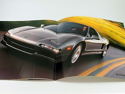 Original Acura NSX Sales Brochure Catalog 1999
