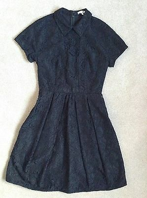 Carven Black Lace Dress Size FR 36 (UK 8) NWT