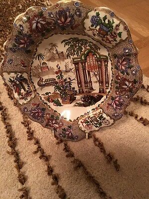 Fab Antique Copeland Spode Plate Hand Painted C 1830