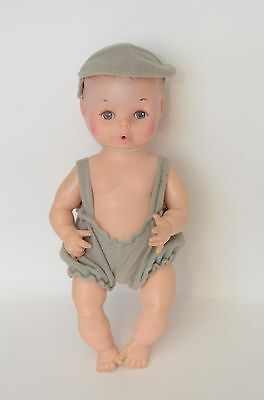 Vintage Eegee Doll Boy Anatomically Correct 10 inch