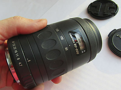SMC Pentax-F 1:4.7-5.6 80-200mm Zoom Lens, from estate donation