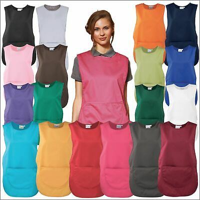 Premier Unisex Tabard with Rounded Pocket Apron Stud-Fastened Tabbard Lot S-3XL