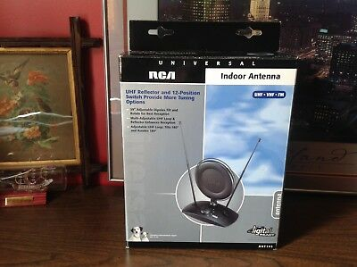RCA ANT 145 - TV / Radio Antenna Uhf/Vhf/fm Reflector And 12 Position Switch