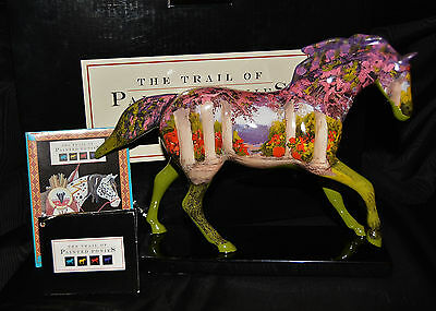 Trail of the Painted Ponies  RETIRED   FLORAL  PONY  RARE  1E/3716  BLACK BOX