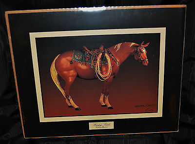 Trail of  Painted Ponies  HAPPY TRAILS  Frameable  Art  HORSE  Print By Westland