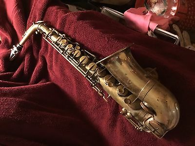 Buffet Crampon Alto Saxophone # 4413 made in 1882.  Early Adolphe Sax!