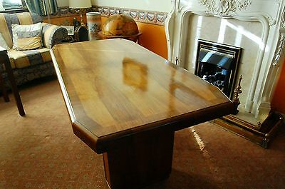STUNNING ART DECO 1920s DINNING TABLE IN EXCELLENT ORIGINAL CONDITION