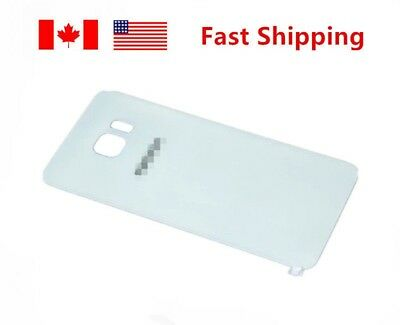 For Samsung Galaxy S6 Battery Back Glass Cover white color Back Door