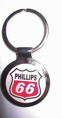 Phillips 66 Gas Key Chain, Phillips 66 Gasoline Logo Keychain, Phillips Keychain