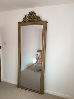 Magnificent Very Large Late Victorian, Early Edwardian 8Ft Mirror With Carvings
