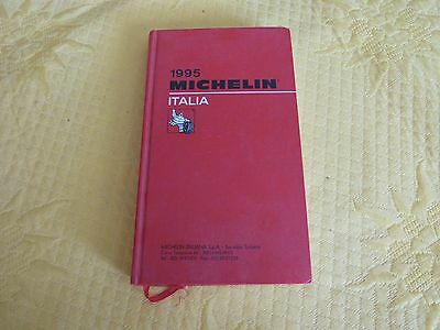 Guide Rouge Michelin ITALIA 1995