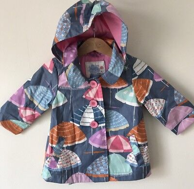 Next Summer Baby Girls Rain Coat Umbrella Jacket Age 6-9 Months