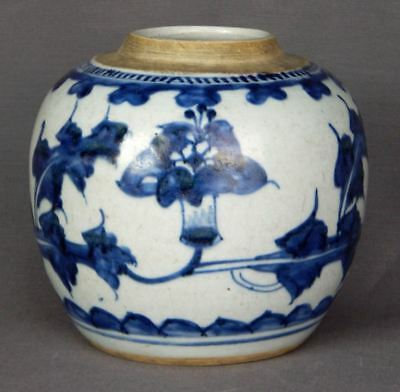 18th Century Chinese Porcelain Blue and White Jar