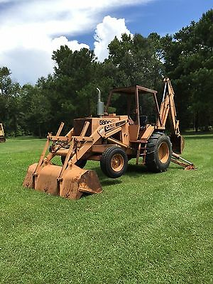 580 C Case Backhoe Loader