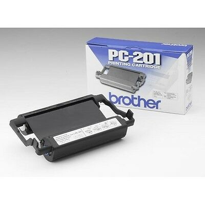 Brother Pc-201 Printing Cartridge Lot Of 2 Brand New