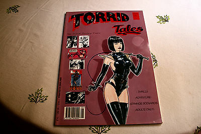 TORRID TALES #1 Fetish Factory (Mather Neal), 1995 First Edition paperback