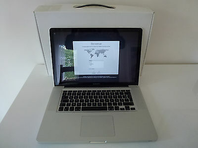 "MacBook Pro 15"" - Core i7 2,2Ghz - SSD 500Go - 16Go"