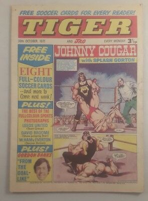 tiger and jag comic 20th October 1971 - tiger and jag magazine 1971