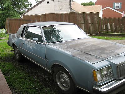 1978 Buick Regal Limited Coupe 2-Door Good body. Bad Frame. Runs good