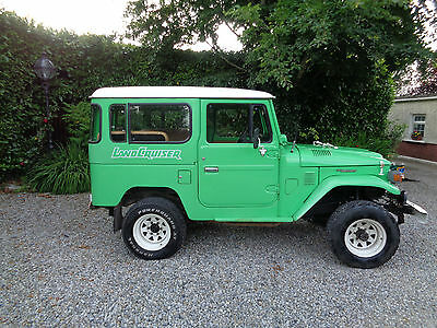 toyota landcruiser bj40 1980 unrestored rust free one owner from new LHD