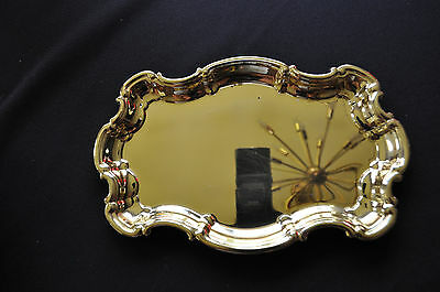 Vintage WM Rogers Silver Plate Scalloped Dish