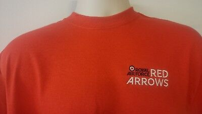 Raf Royal Air Force The Red Arrows Logo T-Shirt