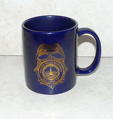 Gallatin (TN) Police Department Badge Coffee Mug