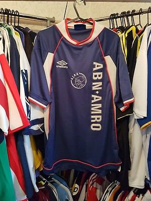 Ajax Football Shirt 1999/00 Away Medium ~ Laudrup 10
