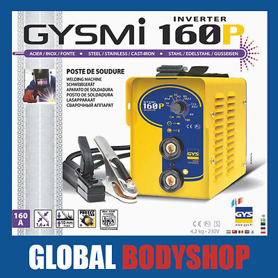 Gysmi 160P Arc & Stick Welder, Inverter, Hot Start, Anti Static Stick Welder