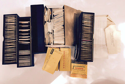 Vintage Slide Lot of 100+ Kodak Slides 1960s Rose Parade Marine Land Family
