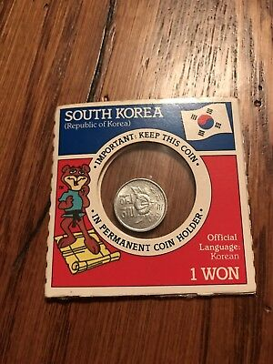 South Korea, 10 Won, 1970 commemorative Coin In Package