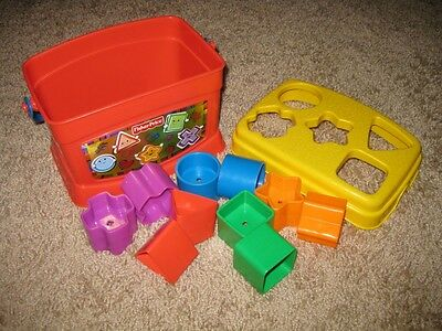 Fisher Price Baby's First Blocks Shape Sorter (USED)