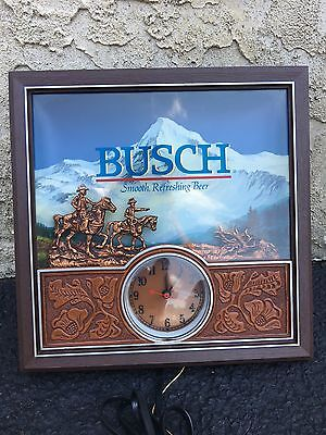 Vintage Busch Light Clock