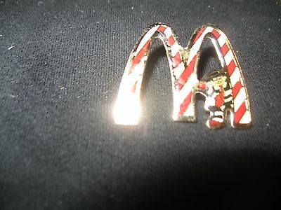 MCDONALDS CANDY CANE Hamburglar Pin (Rare)