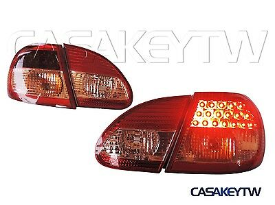 New Style Led Tail Lights Lamps Red / Clear For 03-07 Toyota Corolla  Lcou
