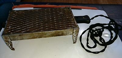 Antique Russell Electric Co Flat Toaster