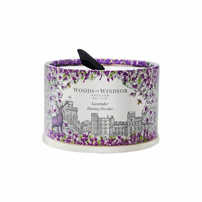Lavender by Woods of Windsor 3.5 oz Dusting Powder with Puff Brand New