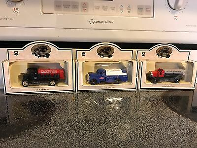Chevron Standard Oil toy trucks