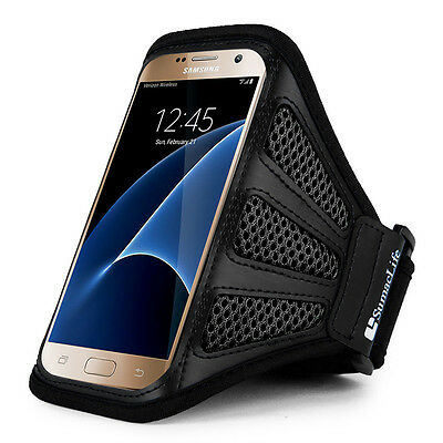 """5.5"""" Sumaclife Sport Running Gym Mesh Armband Case Cover For Sony Xperia XA1 /L1"""
