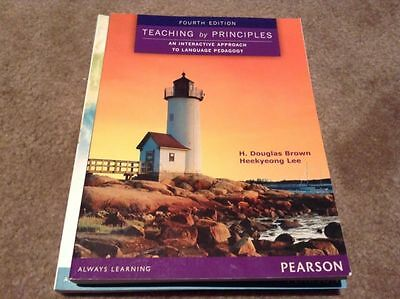 Teaching by Principles- 4th edition- Brand new textbook