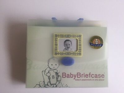 Baby Briefcase Paperwork Document Organizer Perfect Baby Shower Gift