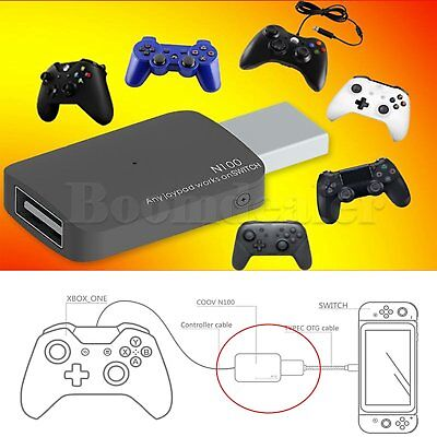 Nintendo Switch NS USB Handle Controller Converter Adapter for Xbox One/PS3/PS4