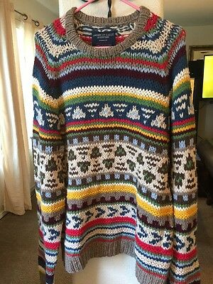 American Eagles Outfitters Hand knitted Sweater Size XXLarge