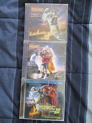 Back To The Future Trilogy CD Set - All Discs are SEALED!!