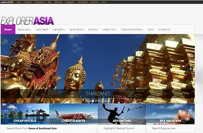 South East Asia Travel websites for sale