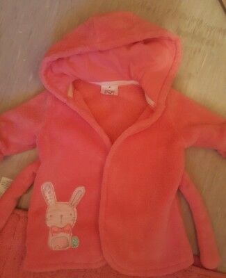 baby girl dressing gown