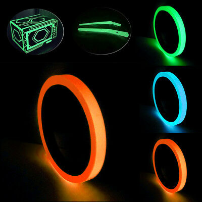 Luminous Tape Self-adhesive Glow In The Dark Safety Stage Home Decor 3 meter