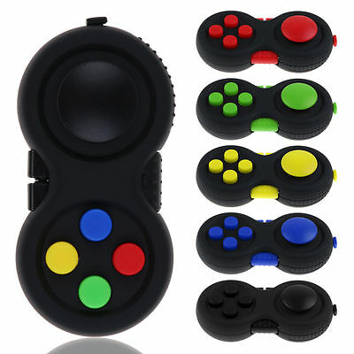 Cool Fidget Hand Shank Pad Handle For Autism ADHD Relieves Stress Focus Desk Toy