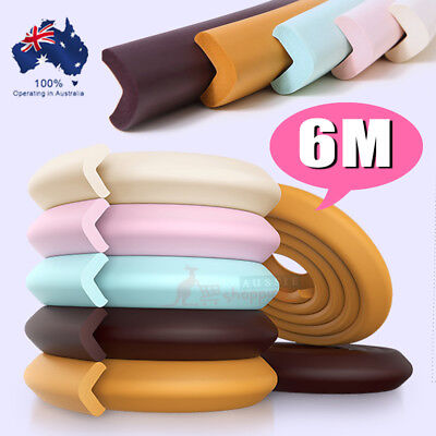 6M Baby Safety Table Edge Corner Cushion Protector Furniture Guard Bumper